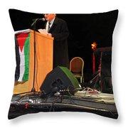 Bethlehem Mayor Dr. Victor Batarseh Throw Pillow