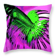 Betta Throw Pillow by George Pedro