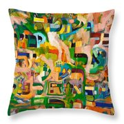 Better One Be Known As An Idiot All His Days Then To Be Wicked Before Hashem A Single Moment. Throw Pillow