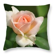 Betty White Rose Throw Pillow