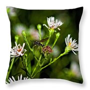 Between Jobs Throw Pillow