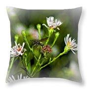 Between Jobs Vignette Throw Pillow