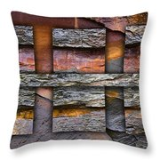 Between Tides Number 5 Throw Pillow