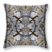 Between Tides Number 8 Throw Pillow
