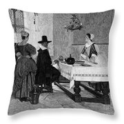 Between Two Fires, C1892 Throw Pillow