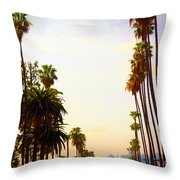 Beverly Hills In La Throw Pillow