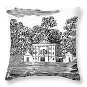 Bewick: Landscape Throw Pillow