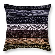 Beyond The Bean Seed Throw Pillow