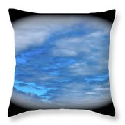 Beyond The Clouds Throw Pillow