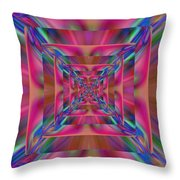 Beyond The Future Throw Pillow