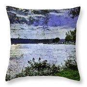 Beyond Time Throw Pillow