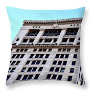 Bham Architecture Throw Pillow