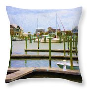 Bhi Marina Throw Pillow