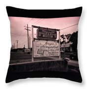 Bible And Bookstore- Nails Throw Pillow