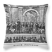 Bible Societies Throw Pillow