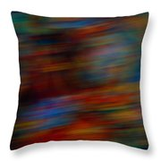 Bice Racer In The Home Stretch Throw Pillow