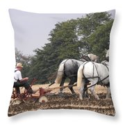 Bickleshire Farm Team Throw Pillow