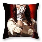 Bid Adieu Throw Pillow