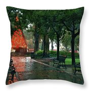 Bienville Square Throw Pillow