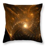 Big Bang Unfolding Throw Pillow