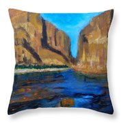 Big Bend Throw Pillow