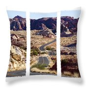 Big Dip Throw Pillow
