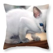 Big Ears Throw Pillow