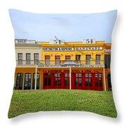 Big Four Building Sacramento California Throw Pillow by Christine Till