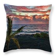 Big Island Sunrise Throw Pillow
