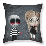Big Juicy Tears Of Blood And Pain 8 Throw Pillow