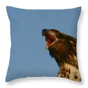 Big Mouth Throw Pillow