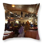 Big Nigerian Church In Lagos Throw Pillow