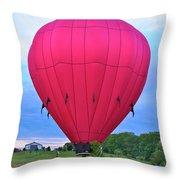 Big Pink  Throw Pillow