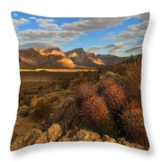Big Valley Throw Pillow