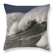 Big Wave II Throw Pillow