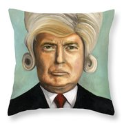 Big Wig Part 1 Throw Pillow