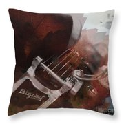 Bigsby Leaves Us Guessing Throw Pillow