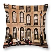 Bikers Rest Throw Pillow
