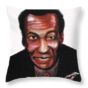 Bill Cosby Throw Pillow
