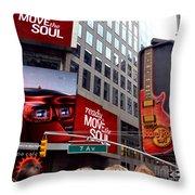Billboards Throw Pillow