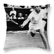 Billie Jean King (1943- ) Throw Pillow by Granger