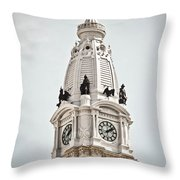 Billy Penn Throw Pillow