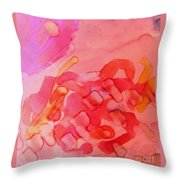 Biology Of Joy Throw Pillow by Rory Sagner