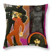 Bionic Bigfoot Throw Pillow