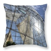 biosfera in Genoa Throw Pillow by Joana Kruse