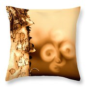Birch Peel Throw Pillow