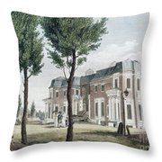 Birch: Philadelphia, 1800 Throw Pillow