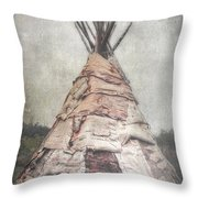Birch Teepee Throw Pillow