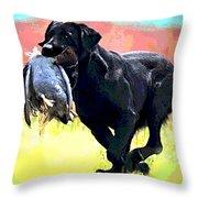 Bird Dog Throw Pillow