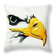 Bird Of Prey  Eagle Throw Pillow